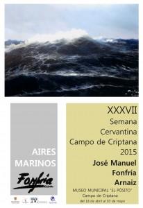 Cartel Exposición Pintura Semana Cervantina 2015